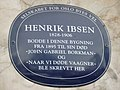Plaque to Ibsen, Oslo.jpg