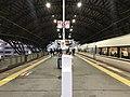 Platform of Nijo Station (Sanin Main Line).jpg