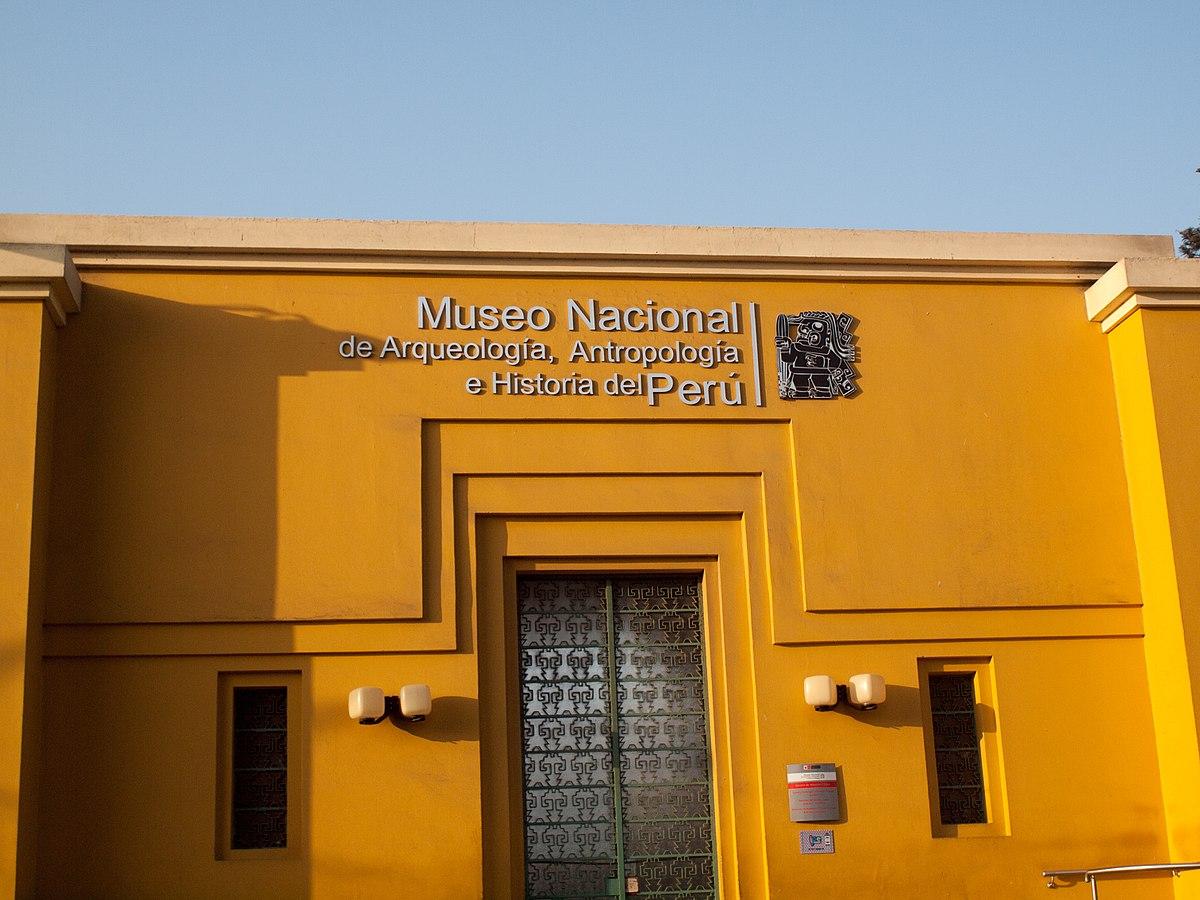 Museo Nacional de Arqueología, Antropología e Historia del Perú ...