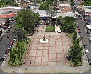 Zacatecoluca: Plaza Cívica José Simeón Cañas de Zacatecoluca