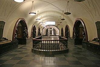 Alexey Dushkin - Ploshchad Revolyutsii metro station