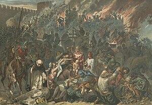 Strasbourg massacre - Pogrom of Strasbourg by Emile Schweitzer