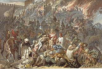 History of the Jews in Europe - Pogrom of Strasbourg by Emile Schweitzer