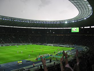 DFB-Pokal (women) - Final 2007 in the Olympic Stadium (Berlin)