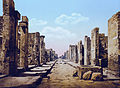 Pompeji um 1900 strada fortuna.jpg