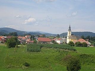 Ponikva Place in Styria, Slovenia
