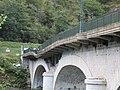 Pont Albertin après l'explosion (vue aval) - Grignon, octobre 2018.jpg