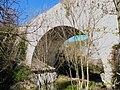 Pont de St Claude vu du jardin.jpg