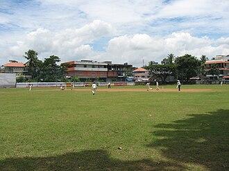 Thrippunithura - Cricket ground