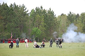 Port Hudson, Louisiana - Civil War reenactment at Port Hudson
