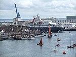 Port de Brest pendant le festival Brest 2008 06.jpg