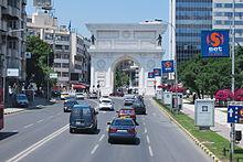 Photographie de la Porte de Macédoine