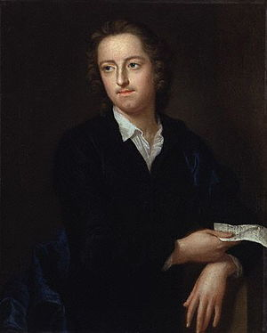 English: Portrait of the poet Thomas Gray by p...