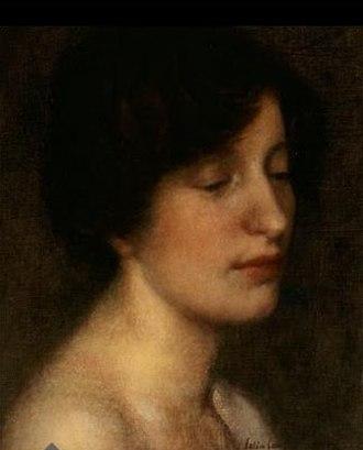 Emma Lampert Cooper - Portrait of Emma Lampert Cooper by Colin Campbell Cooper