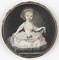 Portret van een kind, gehouden voor Frederica Louisa Wilhelmina (1770-1819), prinses van Oranje-Nassau. Dochter van prins Willem V Rijksmuseum SK-A-4449.jpeg