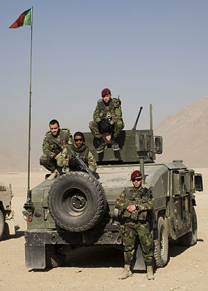 Portuguese Armed Forces - Portuguese Commandos deployed in Afghanistan.