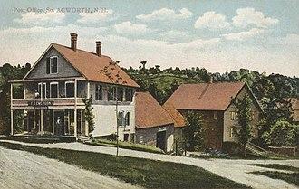 Acworth, New Hampshire - Post office in 1907
