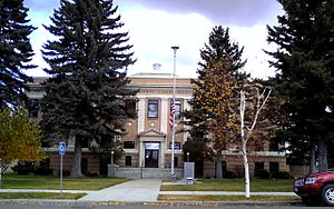 Deer Lodge, Montana - Powell County Courthouse, Deer Lodge