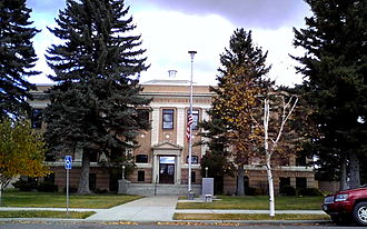 Deer Lodge, Montana - Powell County Courthouse, Deer Lodge
