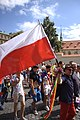Praha, Prague Pride, polská vlajka.jpg
