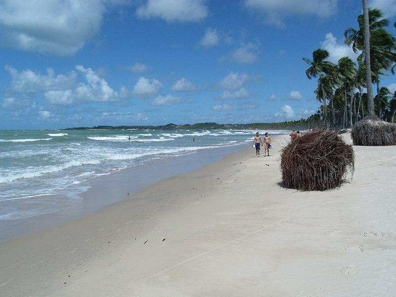 Praia para bate-volta de Recife