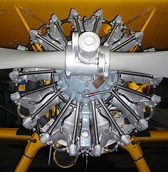 Pratt & Whitney R-985 Wasp Junior - Image: Pratt & Whitney R 985 Wasp Junior