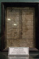 Prayer chart, in the collection of the Great Mosque of Central Java, 2014-06-22.jpg