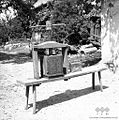 Preša za sadje stiskat, Šmarata 1962 (2).jpg