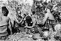 Preparing the head of a bride for a Zulu wedding dance Wellcome M0005313.jpg