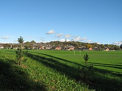 Prescot from Carr Lane Playing fields - geograph.org.uk - 280181.jpg