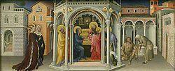 Gentile da Fabriano: Presentation of Christ in the Temple