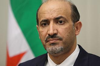 Ahmad Jarba - Image: President Al Jarba of the Syrian National Coalition