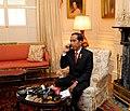 President Joko Widodo Congratulates Prime Minister Mahathir Mohamad by phone.jpg