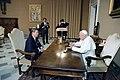 President Ronald Reagan meeting with Pope John Paul II.jpg