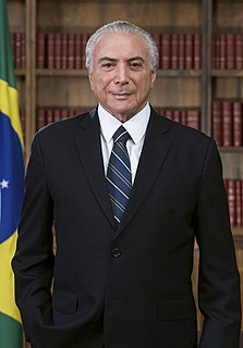 Michel Temer 37th president of Brazil