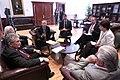 Presidente de la Legislatura, Fernando Cordero recibe a los diputados Alain Neri y Michel Vauzelle, miembros de la Comisión de Relaciones Extranjeras de la Asamblea Nacional de Francia (5816421782).jpg