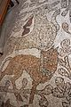Prete pantaleone, mosaico del pavimento del duomo di otranto, 1163-1166, 24 ariete e leonessa.jpg