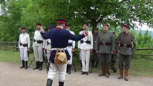 File: Preussische Soldaten exerzieren.ogv