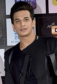Prince Narula at the Zee Gold Awards (cropped) 4.jpg