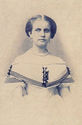 Princess Leopoldina of Brazil - Princess Leopoldina around age 17, c.1864