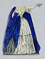 """Print, Jenny Lind Paper Doll Costume, Norma from the opera """"Norma"""", ca. 1850 (CH 18392597).jpg"""
