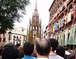 Procesión de la Custodia - Corpus - Toledo - 29 may 2005.JPG