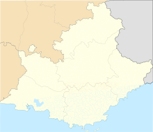 LFMN is located in Provence-Alpes-Côte d'Azur