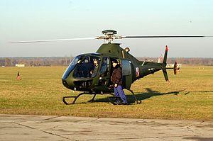 PZL SW-4 - SW-4 idling prior to takeoff, 2006