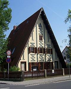 Das Putjatinhaus, eine von Putjatin projektierte Schule in Dresden-Kleinzschachwitz (Quelle: Wikimedia)