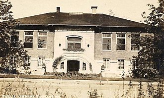 Puyallup Public Library - The original Puyallup Carnegie Library