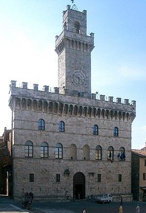 Montepulciano - Communal Palace.