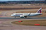 Qatar A320 A7-AHU @ HEL (33629888824).jpg