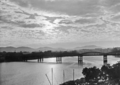 Queensland State Archives 500 Victoria Bridge and the Brisbane River 7 May 1940.png