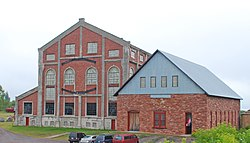 Quincy Mining Company Historic District 2009 - No 2 Hoist House.jpg